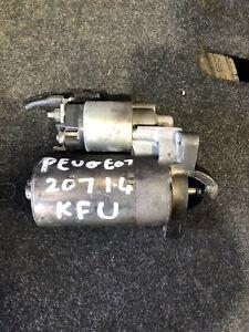 2007 PEUGEOT 207 MK1 1.4 PETROL (KFU) STARTER MOTOR