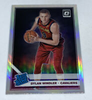 2019-20 PANINI OPTIC SILVER PRIZM HOLO DYLAN WINDLER RATED ROOKIE RC CAVALIERS