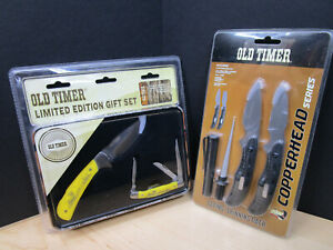 OLD TIMER LIMITED EDITION GIFT SETS COPPERHEAD SERIES CAPING SKINNING PACK A2
