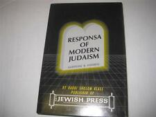 Responsa of Modern Judaism: A Compilation of Questions Past and Present Day ..