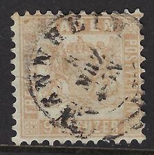 BADEN ( Germany) :1862 9k pale brown SG33 used