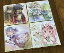 MADE IN ABYSS DAWN OF A DEEP SOUL Tsukushi Akihito Shikishi Art Board 4 Set