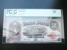 $2 1917 LEGAL TENDER UNITED STATES CHOICE NICE NOTE***PCGS 35***