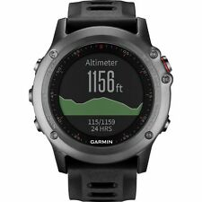 Garmin Fenix 3 Grey GPS Running Triathlon GLONASS Sports Watch Full Warranty