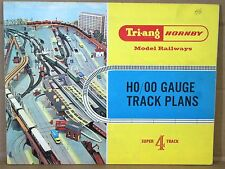 TRIANG HORNBY R166 1966 SUPER 4 TRACK PLANS CATALOGUE RAILWAY LAYOUT NICE ni
