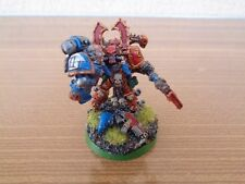 Warhammer 40K Chaos Space Marine Kharn The Betrayer Conversion Painted Metal