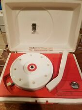 Vintage General Electric V211j Solid State Portable Suitcase Record Player