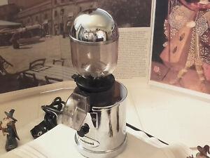 RARE Zacconi Coffe Grinder chrome luxury italy lever espresso machine 110V
