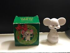 Vintage 1979 Avon Merry Christmas Mouse Zany Cologne .75 Fl Oz