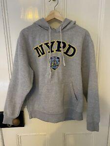 Grey NYPD Hoodie