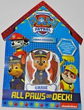 Paw Patrol Fabric Stickers activity Birthday Bag Filler Gift Fun for Kids