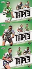 2013 NRL ELITE TRIPLE THREAT TEAM SET TRADING CARDS - CANBERRA RAIDERS