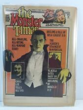 The Monster Times Newspaper Magazine Vol.1 No.27