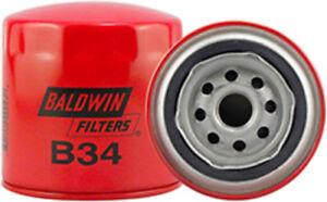 Engine Oil Filter Baldwin B34