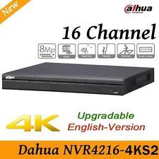 Dahua NVR4216-4KS2 16CH Channel NVR Network Video Recorder, 1080P 1U Case HDD