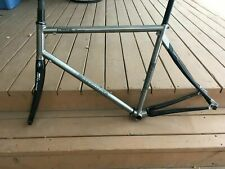 Ritchey BreakAway Titanium Carbon Frame Compact Geometry Very Rare Size L + Case
