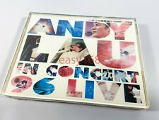 New Sealed Andy Lau 劉德華 In Concert 1996 Leslie Hong Kong Two 2 Cassette Tapes