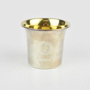 Rotary International - Mug - 800 Silver - Silver Cup - 1996/97 - 3.2oz
