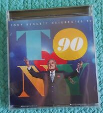 Tony Bennett Celebrates 90 (CD, Dec-2016, Columbia (USA) Lady Gaga Buble Bocelli