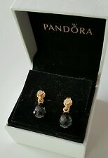 New Genuine Pandora Timeless 14ct Gold Hanging Earrings #250324NCK