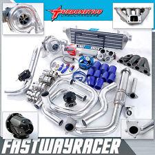 Civic EF EG EK 1.5L D15 D16 D16A D16Y D16Y8 T3/T4 Turbo Kit W/ Turbonetics Turbo