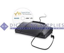 Philips Digital Transcription Kit with Speech Exec Pro Software (LFH7277) BNIB
