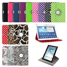 For Samsung Galaxy Tab E A Lite 2 3 4 360 Leather PU Rotating Folio Case Cover