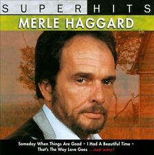 Super Hits by Merle Haggard (CD, Mar-1993, Sony Music Distribution (USA NEW