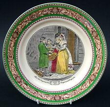Vintage Adams Cries of London Breakfast Plate 23cm Sweet China Oranges in VGC