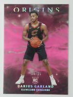 2019-20 Panini Origins Pink Darius Garland Rookie RC #88, Cavaliers, #'d/35