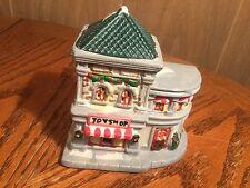 Toy Shop Porcelain Christmas Village Scene Building
