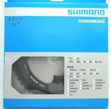 Shimano 105 FC-R7000 Chainring 52T for 52-36T, Black, 11 Spd, FC-R8000 Usable
