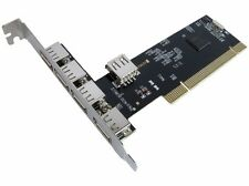 4 Port USB PCI Card - 4 external Ports and 1 internal - USB Expansion Card