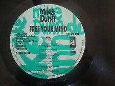MIKE DUNN - FREE YOUR MIND LP Album 1990 Desire Records ACID HOUSE/HIP-HOUSE