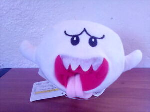 Nintendo Super Mario Bros. Boo Buddy Ghost Stuffed Animal Plush Figure Toy Doll