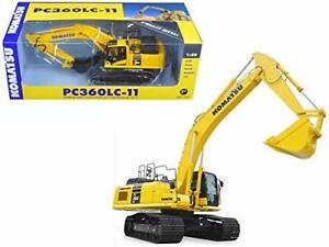 StarSun Depot Komatsu PC360LC-11 Excavator 1/50 Diecast Model Car First Gear