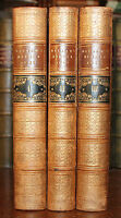 1856 View of the State of Europe During the Middle Ages 3 Vols Leather HALLAM