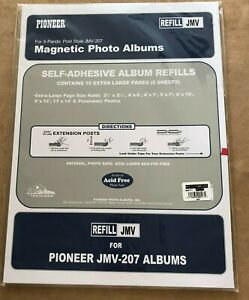 Pioneer Magnetic Photo Album 5 page Refill 12 x 16.5 JMV-207 X-Pando Post
