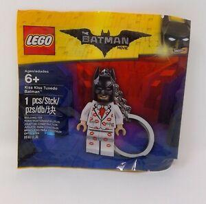 LEGO 5004928 Kiss Kiss Tuxedo Batman Key Ring Poly Bag