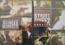 STREET KING 1-2: Motor City- Keanu Reeves-Forest Whitaker-Ray Liotta- NEW 2 DVD