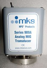 "MKS HPS 909A-21 ANALOG HOT CATHODE TRANSDUCER 2-3/4"" CF CONFLAT SENSOR SST"