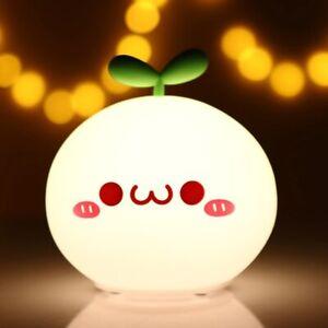 SB LED Night Light Lamp Soft Silicon Touch Sensor Cartoon 5V 1200 mAh  8 Hours W