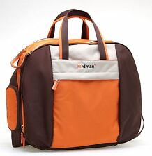 Babyhugs Overnight Hospital Maternity Baby Nappy Changing Weekend Bag - Orange