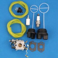 Carburetor carb for Poulan Pp5020Av Pp4818A Chainsaw Oil & fuel Cap kit