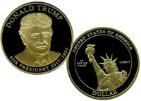 DONALD TRUMP PRESIDENTIAL DOLLAR TRIAL COIN PROOF LUCKY MONEY VALUE $99.95
