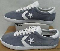 New Mens 11 Converse Breakpoint Pro OX Cool Grey White Leather Shoes $75 157905C