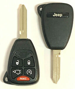 Replacement Remote Key Fob Fits 2006 2007 Jeep Commander Grand Cherokee