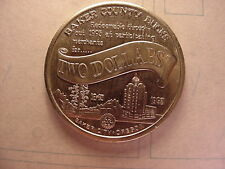 1993 BAKER CITY OREGON TWO DOLLAR FOR SEQUCENTENNAL 1843-1993 NICE