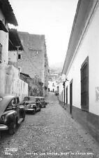 RPPC Hotel Los Arcos Taxco Guerrero Mexico Vintage Postcard ca 1940s