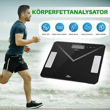 7 in1 Digitale Personenwaage Bluetooth Körperfettwaage Körperanalysewaage 180 kg